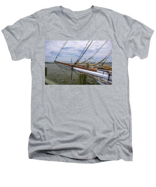 Spirit Of South Carolina Dreaming Men's V-Neck T-Shirt by Dale Powell