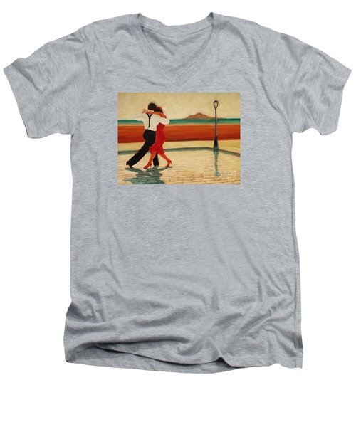 Tango Heat Men's V-Neck T-Shirt