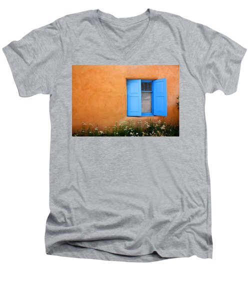 Taos Window V Men's V-Neck T-Shirt