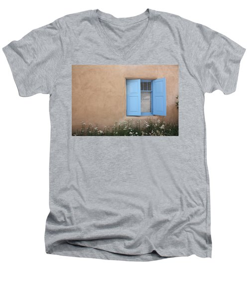 Taos Window Vi Men's V-Neck T-Shirt