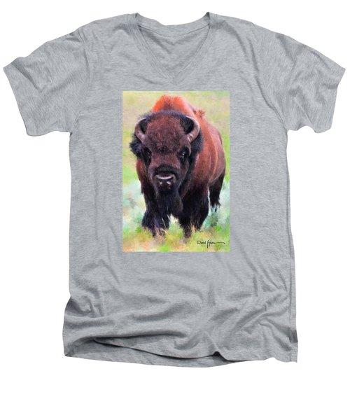 Da105 Tatonka By Daniel Adams Men's V-Neck T-Shirt