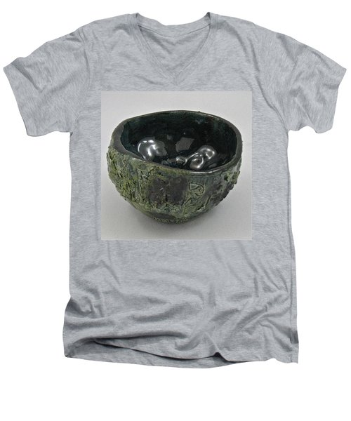 Tea Bowl #5 Men's V-Neck T-Shirt