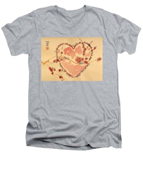 Teach Us - Color Men's V-Neck T-Shirt