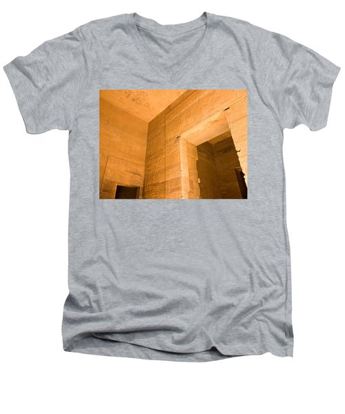 Temple Interior Men's V-Neck T-Shirt
