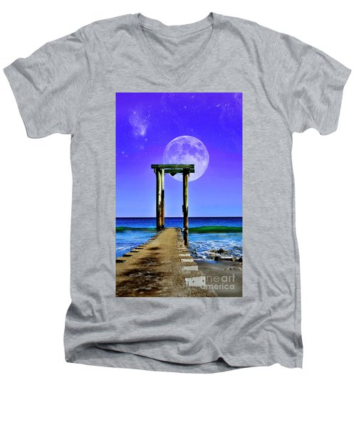 Temple Of The Atlantic Men's V-Neck T-Shirt