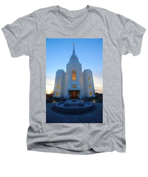Temple Work Men's V-Neck T-Shirt