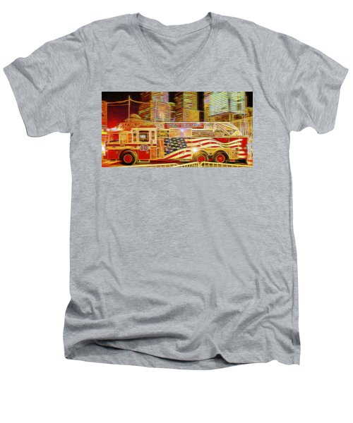 Ten Truck Men's V-Neck T-Shirt