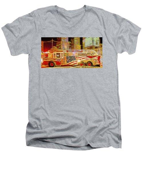 Ten Truck Men's V-Neck T-Shirt