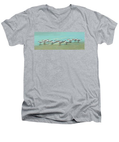 Tern Tern Tern Men's V-Neck T-Shirt