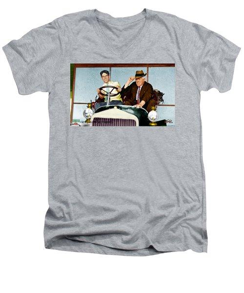 Test Drive Men's V-Neck T-Shirt