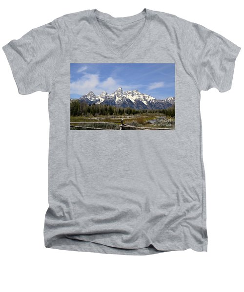 Teton Majesty Men's V-Neck T-Shirt