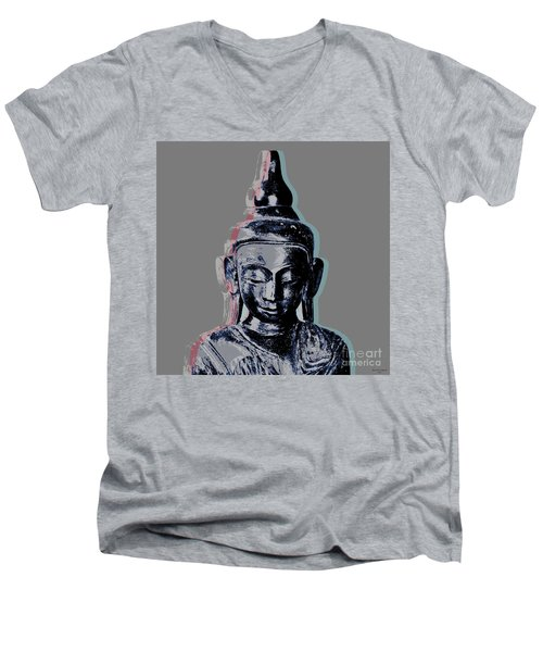 Thai Buddha #2 Men's V-Neck T-Shirt