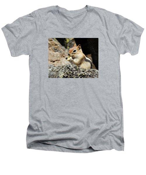 Thank You For The Cracker Men's V-Neck T-Shirt