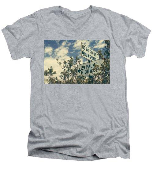 Thattaway Men's V-Neck T-Shirt