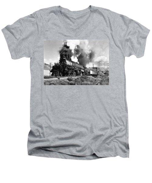 The 4019 Big Boy Men's V-Neck T-Shirt