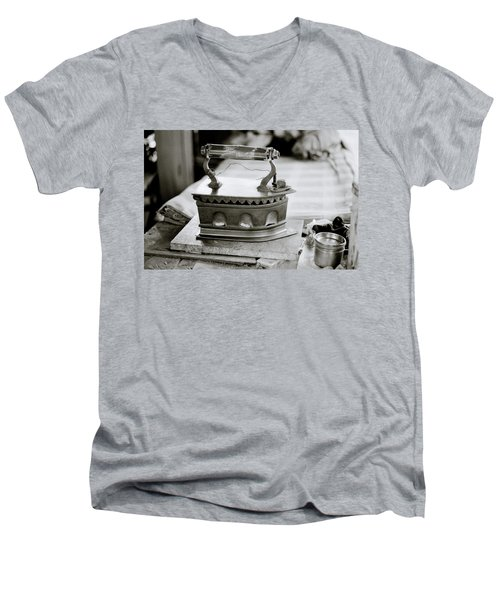 The Antique Iron Men's V-Neck T-Shirt