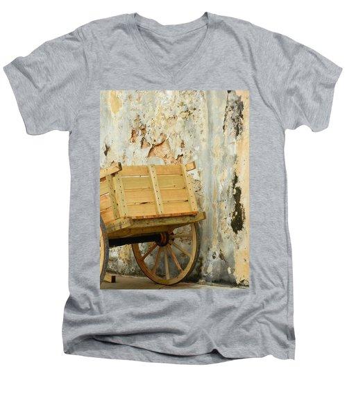 The Apple Cart Men's V-Neck T-Shirt