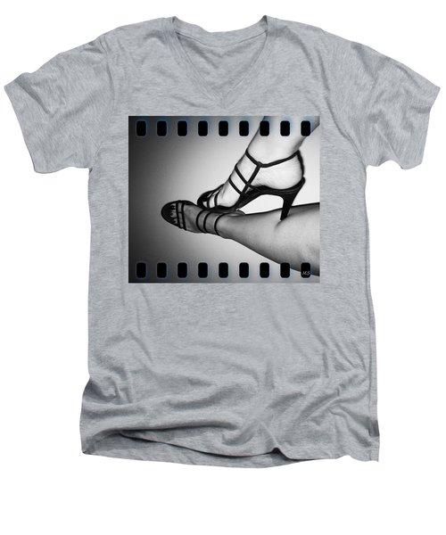 The Art Of Stilettos Men's V-Neck T-Shirt by Absinthe Art By Michelle LeAnn Scott