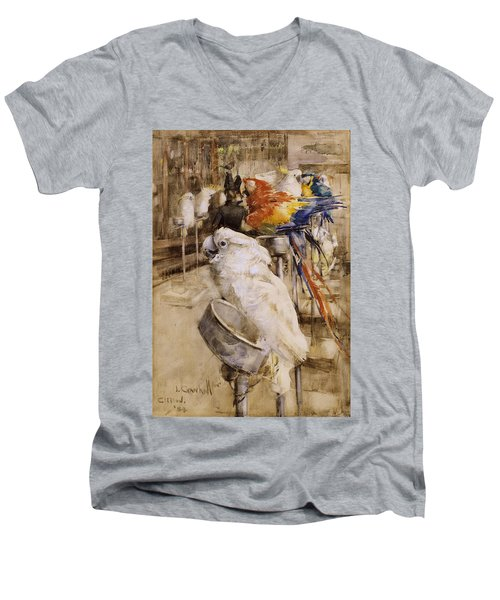 The Aviary, Clifton, 1888 Men's V-Neck T-Shirt