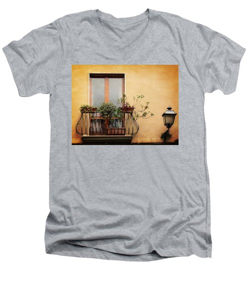 The Balcony Men's V-Neck T-Shirt