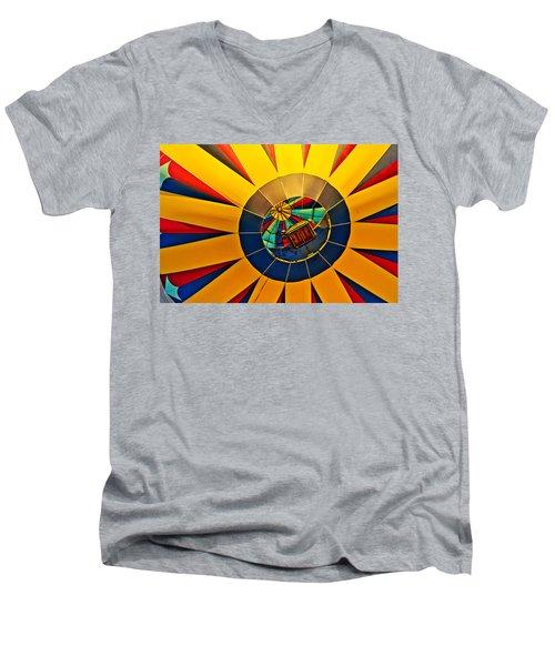 Basket Men's V-Neck T-Shirt
