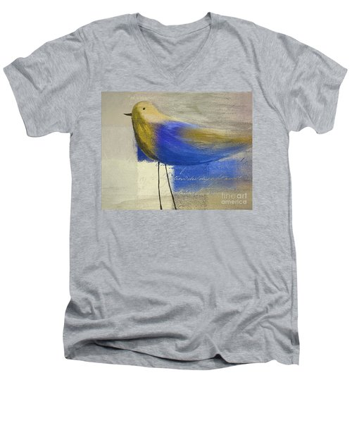 The Bird - J100124164-c21 Men's V-Neck T-Shirt