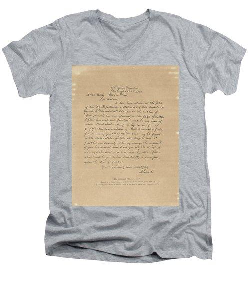 The Bixby Letter Men's V-Neck T-Shirt