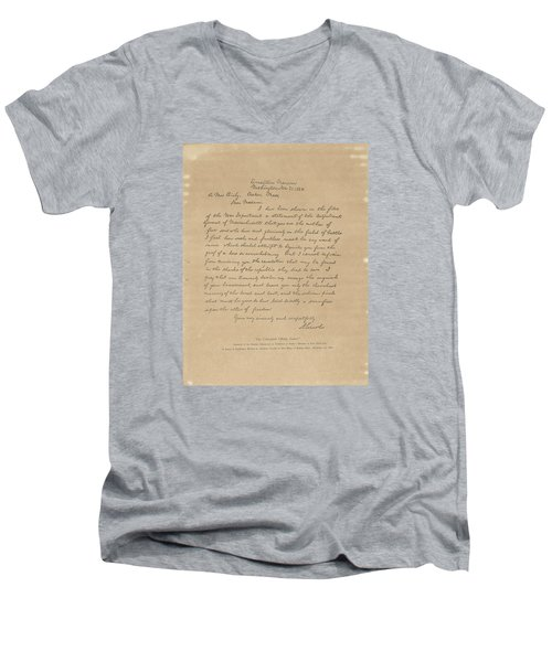The Bixby Letter Men's V-Neck T-Shirt