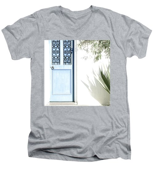 The Blue Door Men's V-Neck T-Shirt