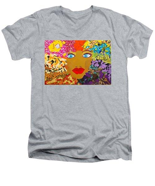 The Bluest Eyes Men's V-Neck T-Shirt