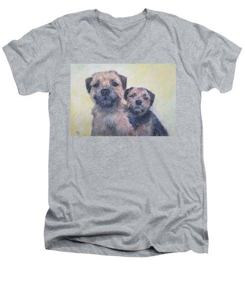 The Border Boys Men's V-Neck T-Shirt