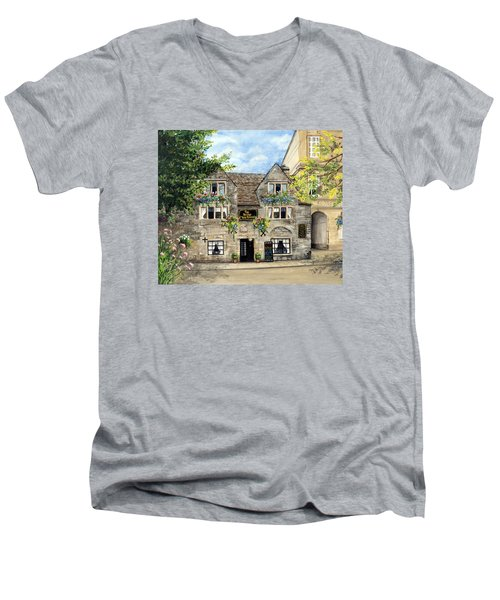 The Bridge Tea Rooms Men's V-Neck T-Shirt
