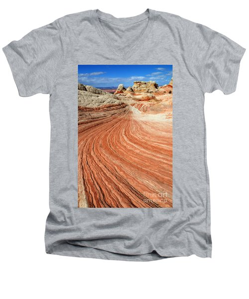 The Brilliance Of Nature 3 Men's V-Neck T-Shirt