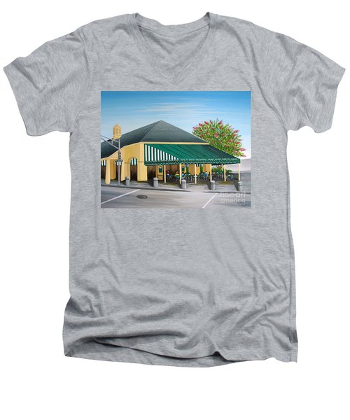 The Cafe Men's V-Neck T-Shirt