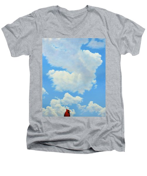 The Cardinal Men's V-Neck T-Shirt