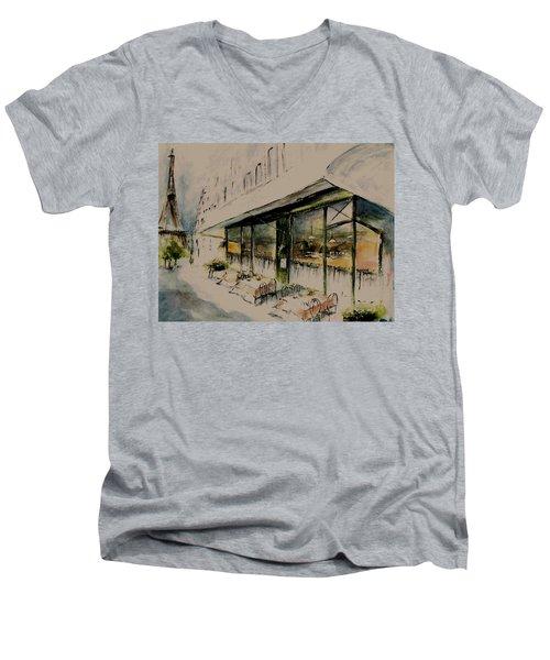 The Champs Elysees Men's V-Neck T-Shirt