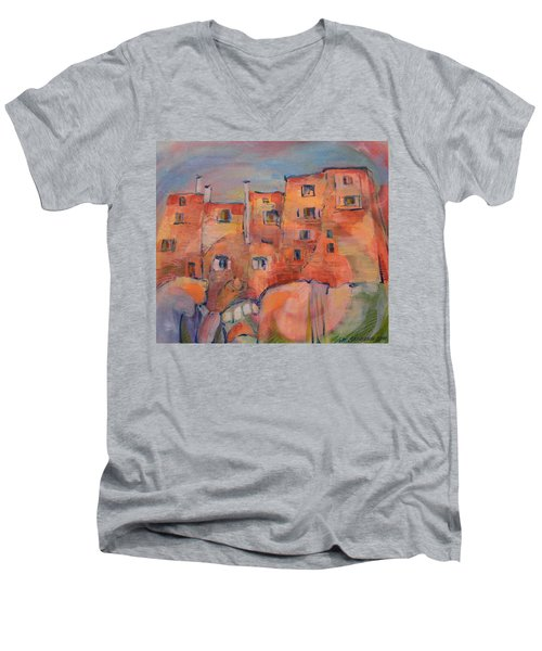 The City Walls Watch Men's V-Neck T-Shirt