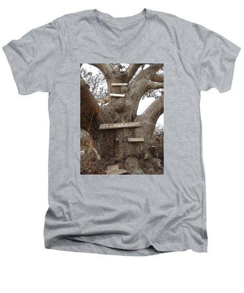 The Climbing Tree - Hurricane Katrina Survivor Men's V-Neck T-Shirt