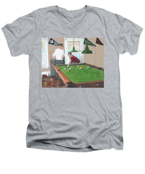 The Club House Men's V-Neck T-Shirt