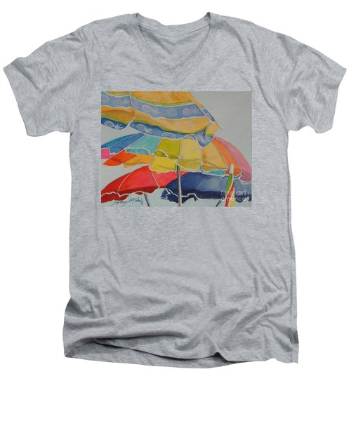 The Colors Of Fun.  Sold Men's V-Neck T-Shirt