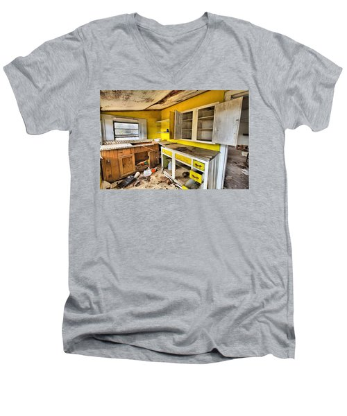The Cupboard Is Bare Men's V-Neck T-Shirt