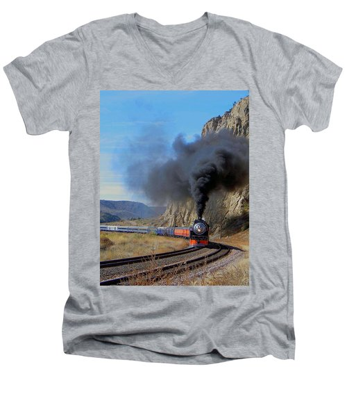 The Daylight 4449 Montana Driveby Men's V-Neck T-Shirt
