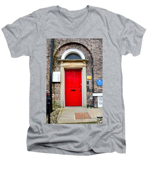 The Door To James Herriot's World Men's V-Neck T-Shirt