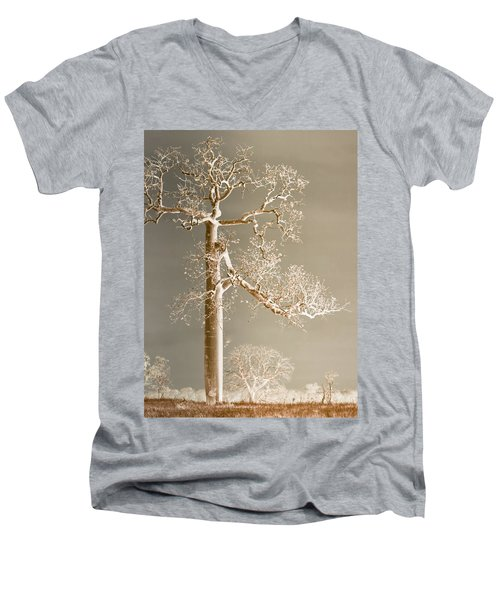 The Dreaming Tree Men's V-Neck T-Shirt by Holly Kempe