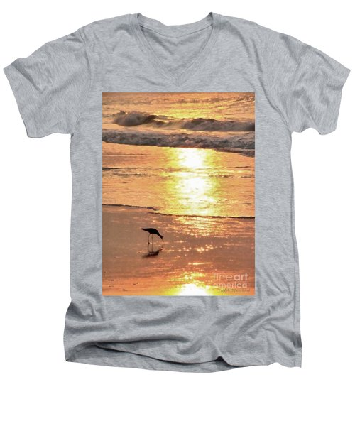 The Early Bird Men's V-Neck T-Shirt