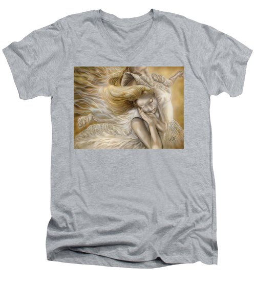The Ecstasy Of Angels Men's V-Neck T-Shirt