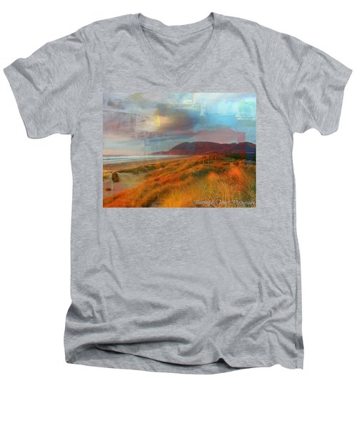 The Elk Trail Men's V-Neck T-Shirt