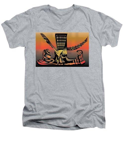 The Ember Tree Men's V-Neck T-Shirt