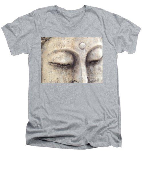 The Eyes Of Buddah Men's V-Neck T-Shirt