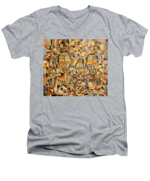 The Family Album Men's V-Neck T-Shirt